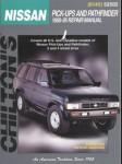 Chilton Nissan Pick-Ups and Pathfinder 1989-1995 Repair Manual