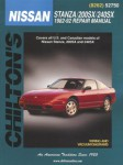 Chilton Nissan Stanza 200SX 240SX 1982-1992 Repair Manual
