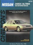 Chilton Nissan 240SX Altima 1993-1998 Repair Manual