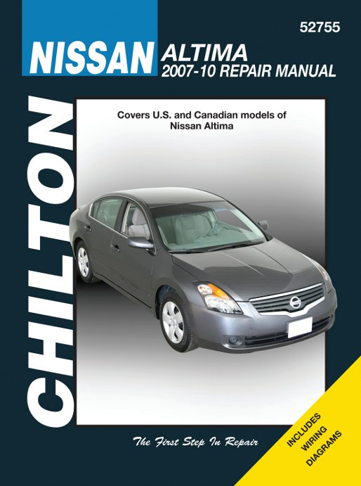 Chilton Nissan Altima 2007 2010 Auto Repair Manual