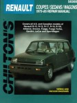 Used Chilton Renault Coupes Sedans Wagons 1975-1985 Repair Manual