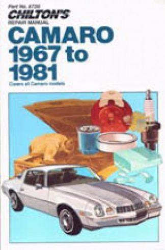 Chilton Chevrolet Camaro 1967-1981 Repair Manual