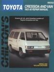Chilton Toyota Cressida and Van 1983-1990 Repair Manual