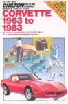 Chilton Chevrolet Corvette 1963-1983 Repair Manual