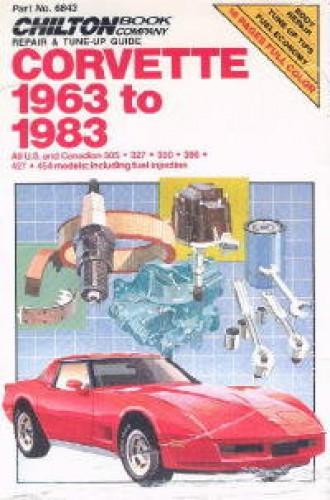 Chilton Chevrolet Corvette 1963-1983 Repair Manual
