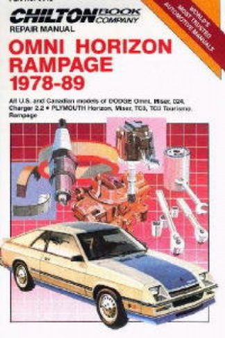 Chilton 1978-1989 Dodge Omni Horizon Rampage Repair Manual