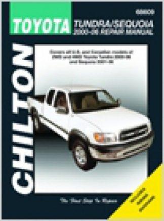 Chilton 2000-2006 Toyota Tundra 2001-2007 Sequoia Repair Manual