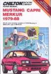 Chilton Ford Mustang Capri Merkur 1979-1988 Repair Manual