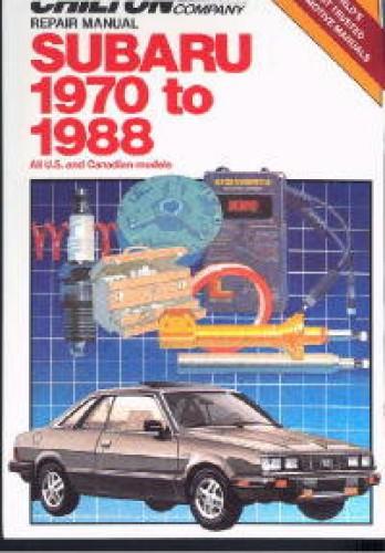 Chilton Subaru 1970-1988 Repair Manual