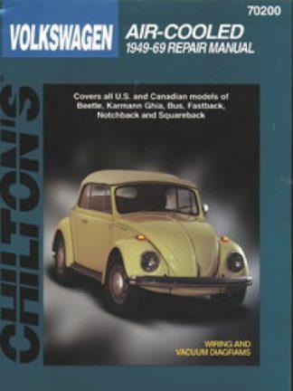 Chilton Volkswagen Air Cooled 1949-1969 Repair Manual