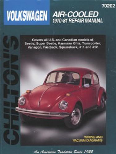volkswagen beetle karmann ghia air cooled 1970 1981 chilton repair rh repairmanual com VW Beetle Repair Manual Starter Hippy VW Beetle Repair Manual