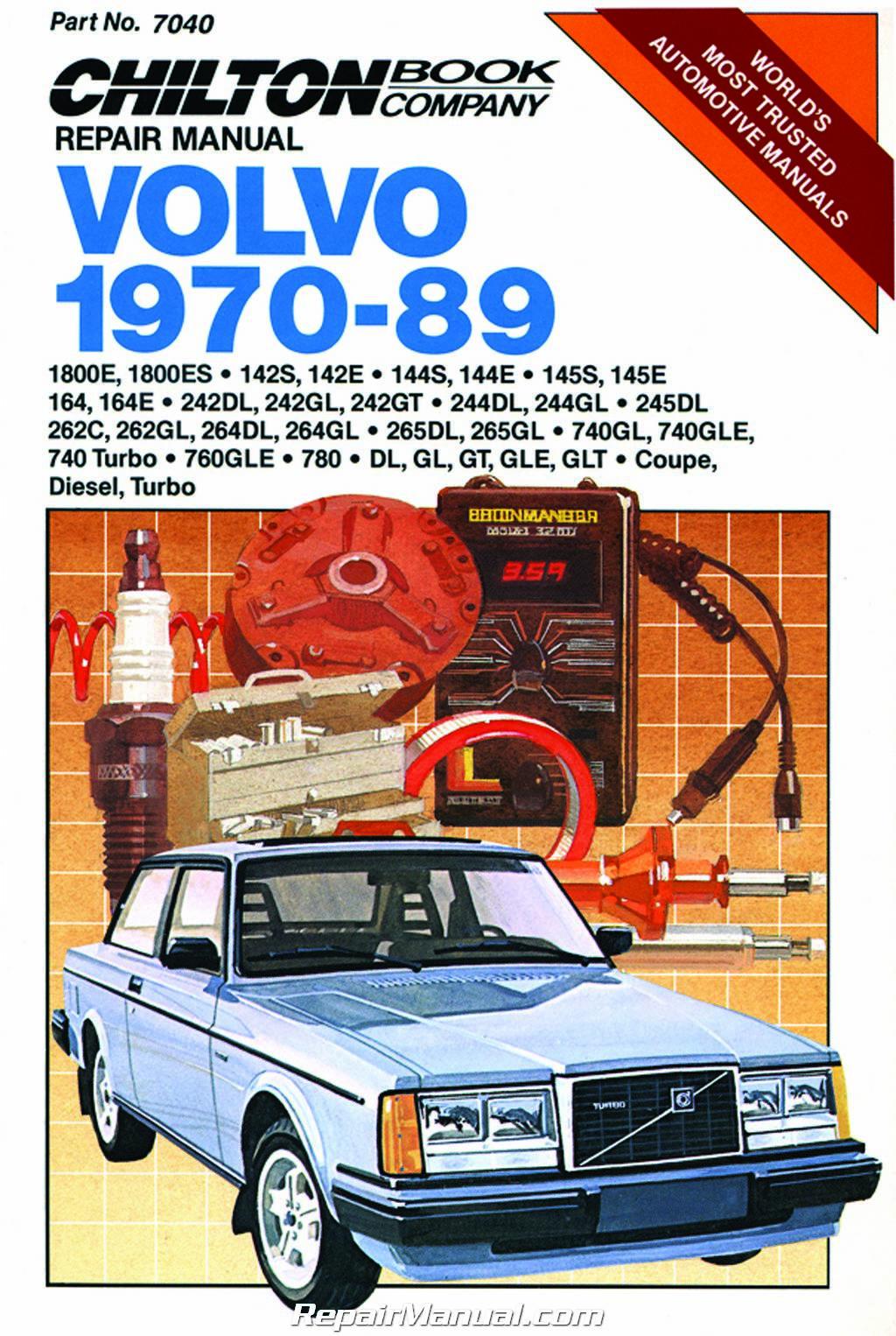 Chilton Volvo 1970
