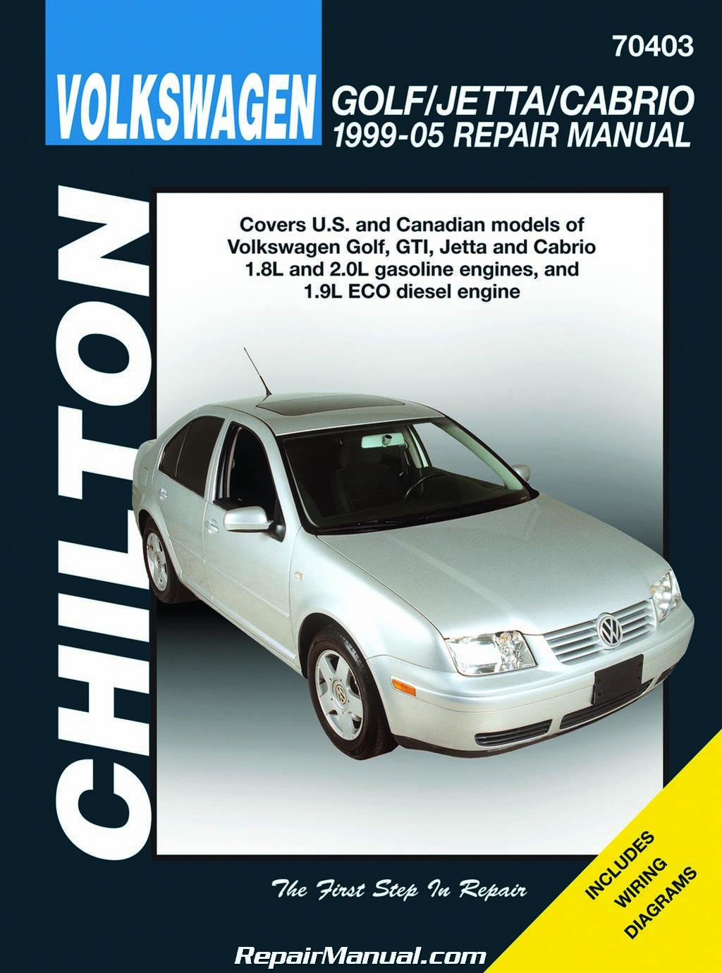 chilton volkswagen golf jetta and gti 1999 2005 repair. Black Bedroom Furniture Sets. Home Design Ideas