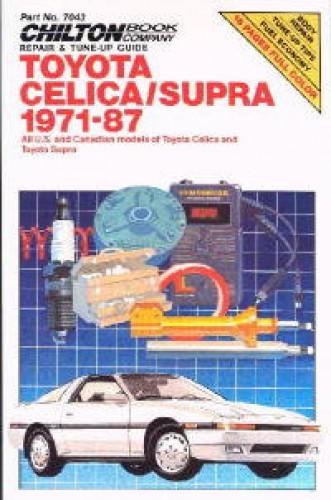 Chilton Toyota Celica Supra 1971