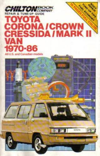 used chilton 1970 1986 toyota corona cressida repair manual rh repairmanual com 1974 Toyota Corona 1988 Toyota Corona