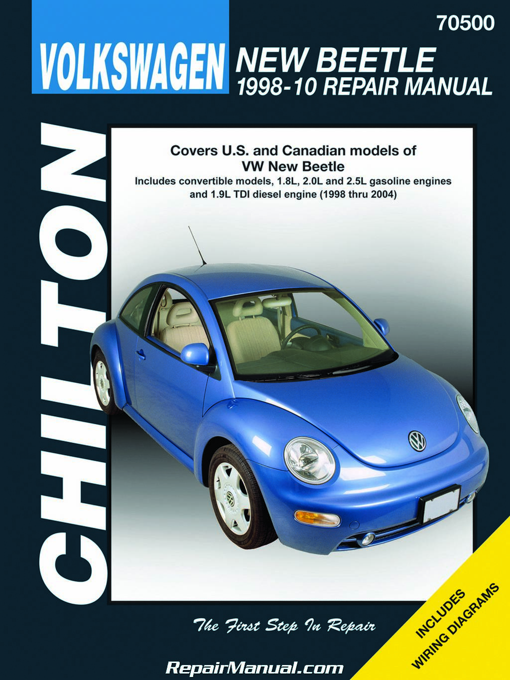 Chilton Volkswagen New Beetle 1998 2010 Repair Manual