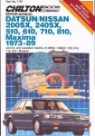 Chilton Datsun Nissan - 200SX 240SX 510 610 710 810 Maxima 1973-1989 Repair Manual
