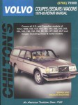 Chilton Volvo Coupes Sedans Wagons 1970-89 Repair Manual