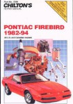 Chilton Pontiac Firebird 1982-1994 Repair Manual