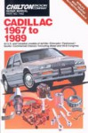 Chilton Cadillac 1967-1989 Repair Manual
