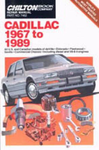 Chilton Cadillac 1967-1989 Repair Manual