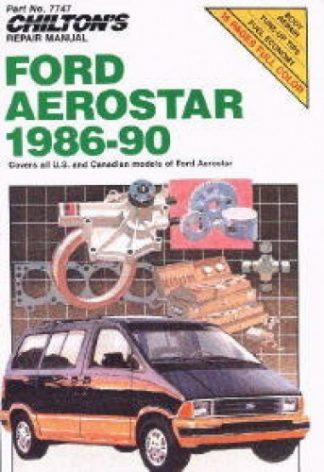 Chilton Ford Aerostar 1986-1990 Repair Manual