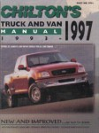 Chilton 1993-1997 Truck and Van Manual