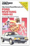 Used Chilton Ford Mustang 1989-1992 Repair Manual