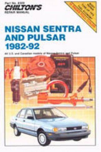 Chilton Nissan Sentra Pulsar 1982-1992 Repair Manual