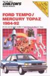 Chilton Ford Tempo and Mercury Topaz 1984-1992 Repair Manual
