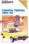 Chilton Toyota Tercel 1984-1994 Repair Manual