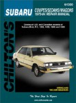 Chilton Subaru ff-1 1300 1400 1600 1800 Brat 1970-1984 Repair Manual