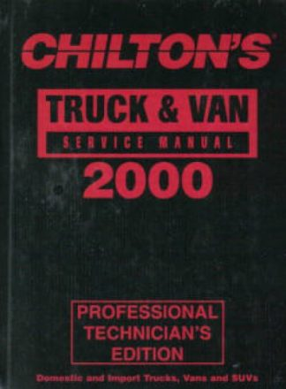 Chilton Truck and Van Service Manual
