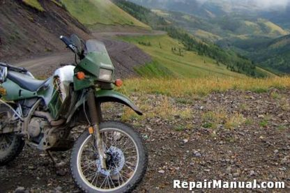 1984-2007 Kawasaki KLR600 KLR650 Cyclepedia Online Service Manual