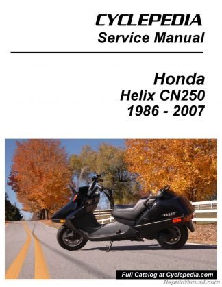 Cyclepedia Honda Helix Manual