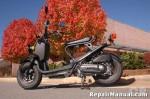 Honda NPS50 Ruckus Cyclepedia Online Scooter Service Manual