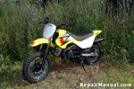 Suzuki JR50 and Kawasaki KDX50 Cyclepedia Online Service Manual