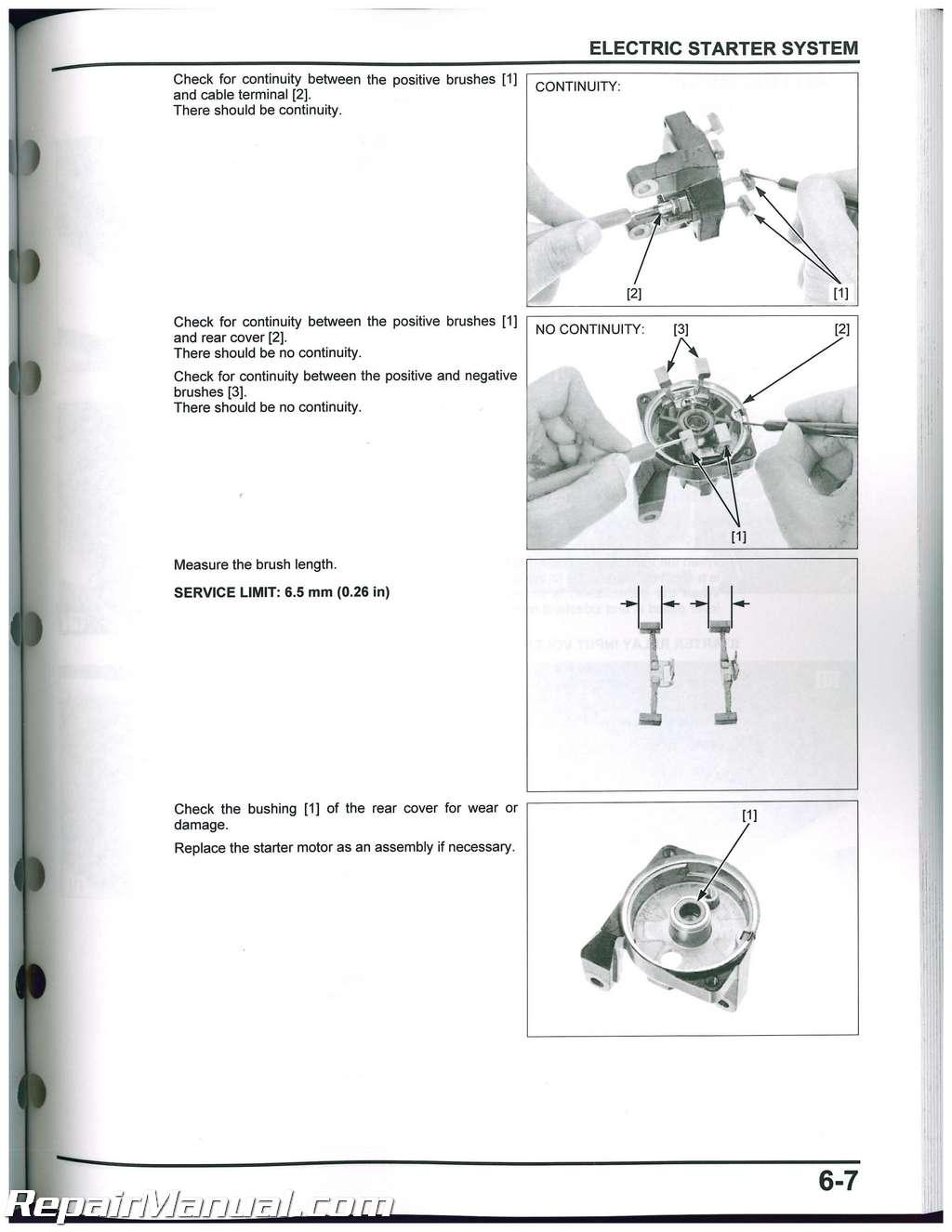 Crf250l Honda Motorcycle Service Manual 2013