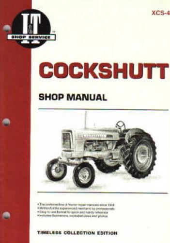 Cockshutt Tractor Parts : Cockshutt  tractor repair manual