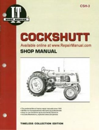 Cockshutt 35 and 40D4 Repair Manual Supplement
