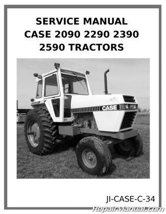 Case Tractor Manuals - Repair Manuals Online