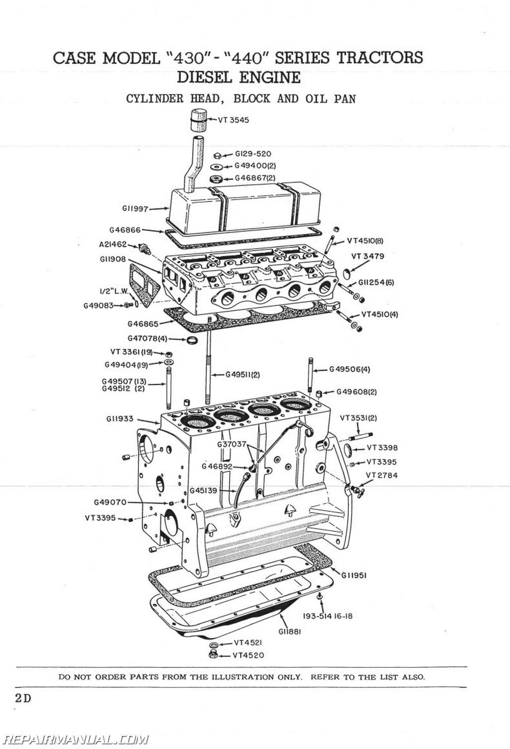 Craftsman 11324200 Parts List And Diagram Manual Guide