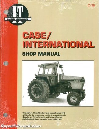 case international 1896 and 2096 tractor workshop manual