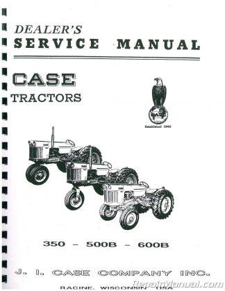 Case International 350 Service Manual