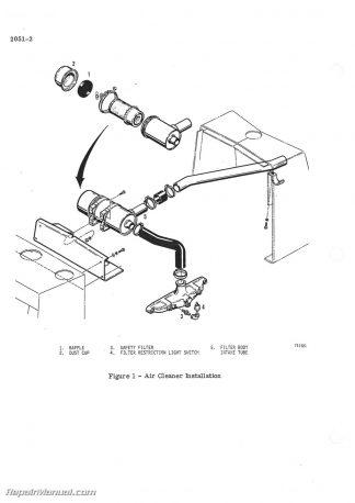 case international 385 485 585 685 885 tractor workshop manual