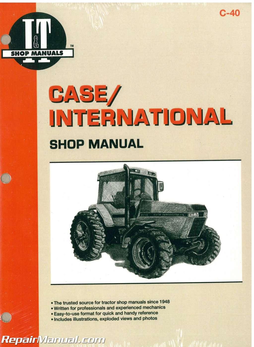 Case International 7110 7120 7130 7140 Tractor Workshop Manual   C