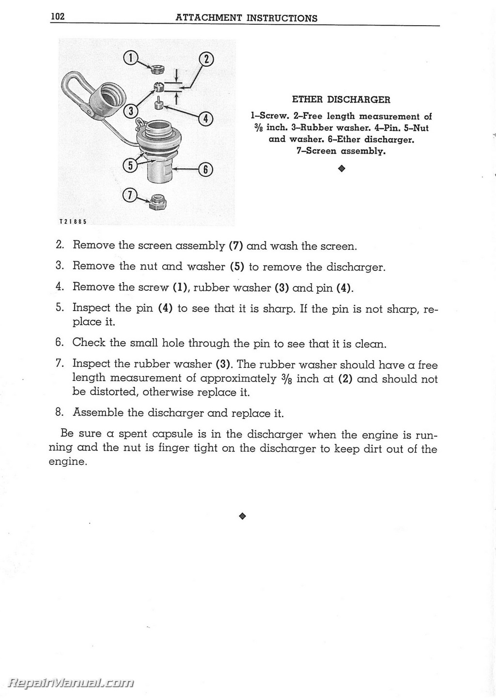 Caterpillar 112 Motor Grader Operators Maintenance Manual