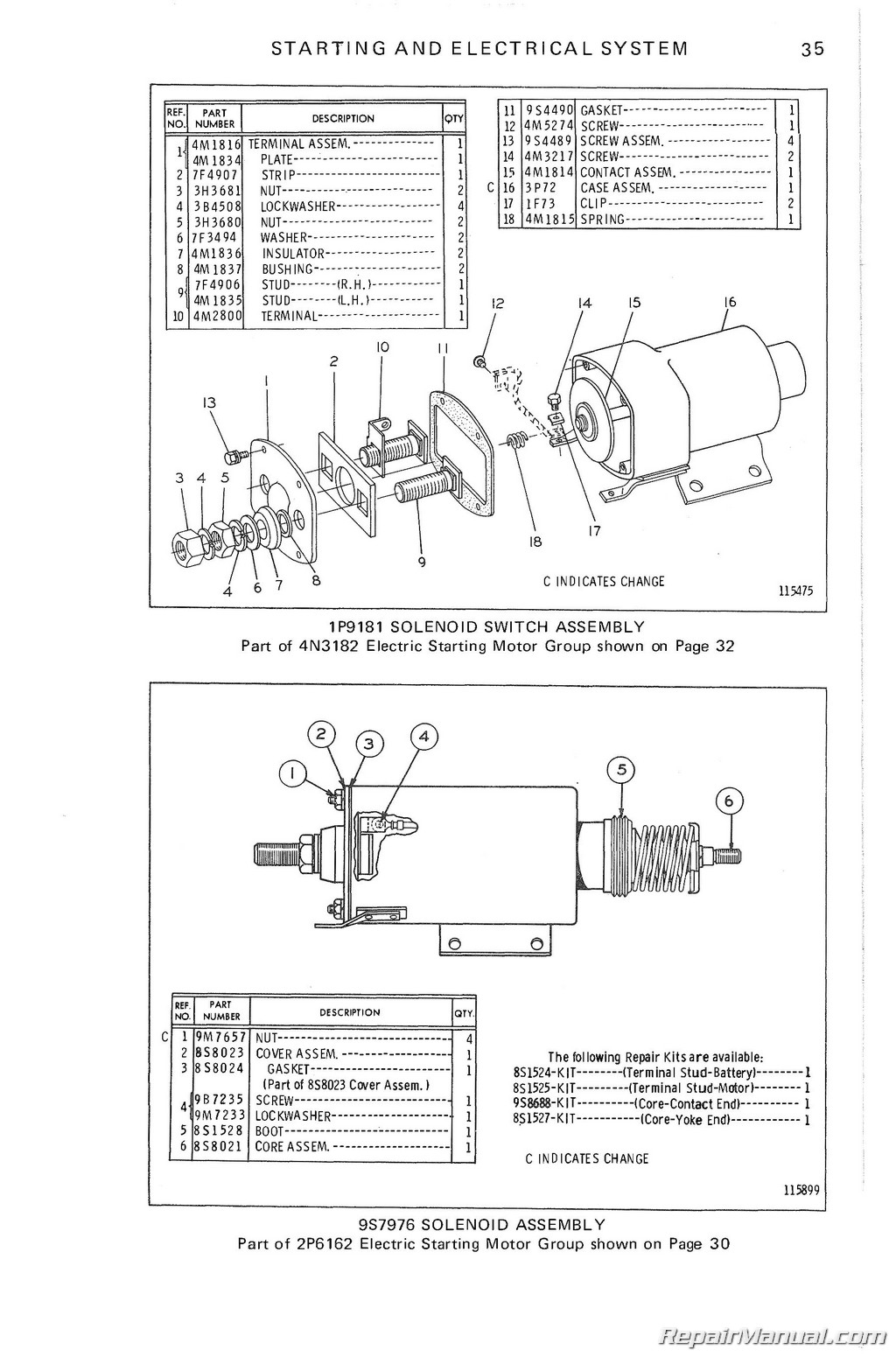 Caterpillar 12f Motor Grader Parts Manual