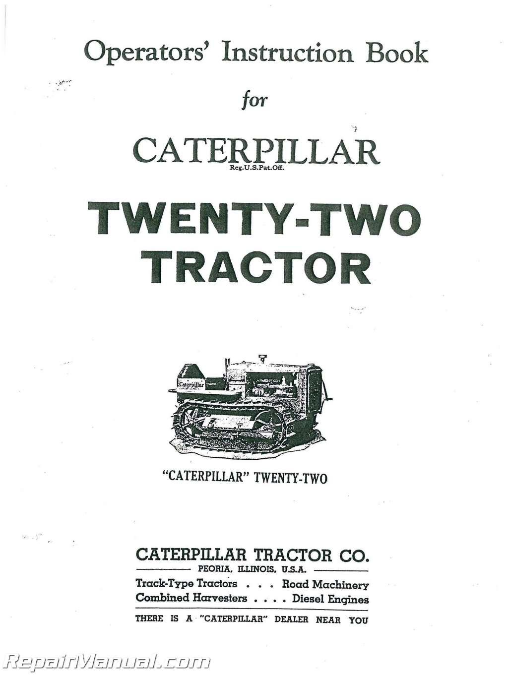 Cat 246 operators manual