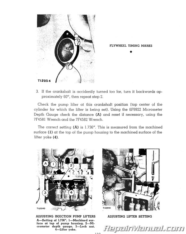 Caterpillar D311 D2  212 Motor Grader Service Repair Manual